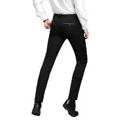2018 осень и зима для мужчин's повседневные штаны для мужчин осень сплошной цвет прямые талии полной длины мужской Pantalon Homme