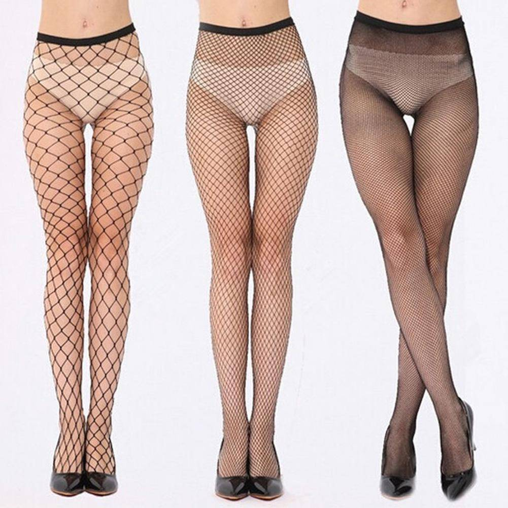 Party Hollow Out Sexy Pantyhose Female Mesh Black Women Tights Stocking Sexy Net Fishnet Body Stockings 3 New Style