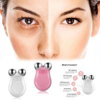 Face Massager Lifting Instrument Micro Current Remove Wrinkle Nasolabial Folds Detoxification Skin Rejuvenation Body Machine
