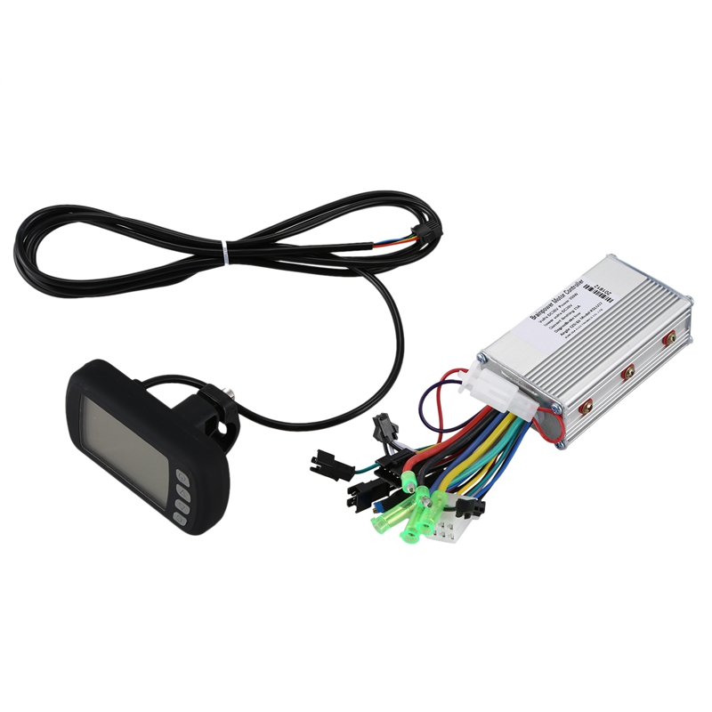 36V 350W Brushless font b Electric b font font b Bicycle b font Controller With Lcd