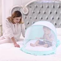 New Baby Bed Mosquito Netting Children Bed Mosquito Net Newborn Folding Mosquito Self expanding Tent