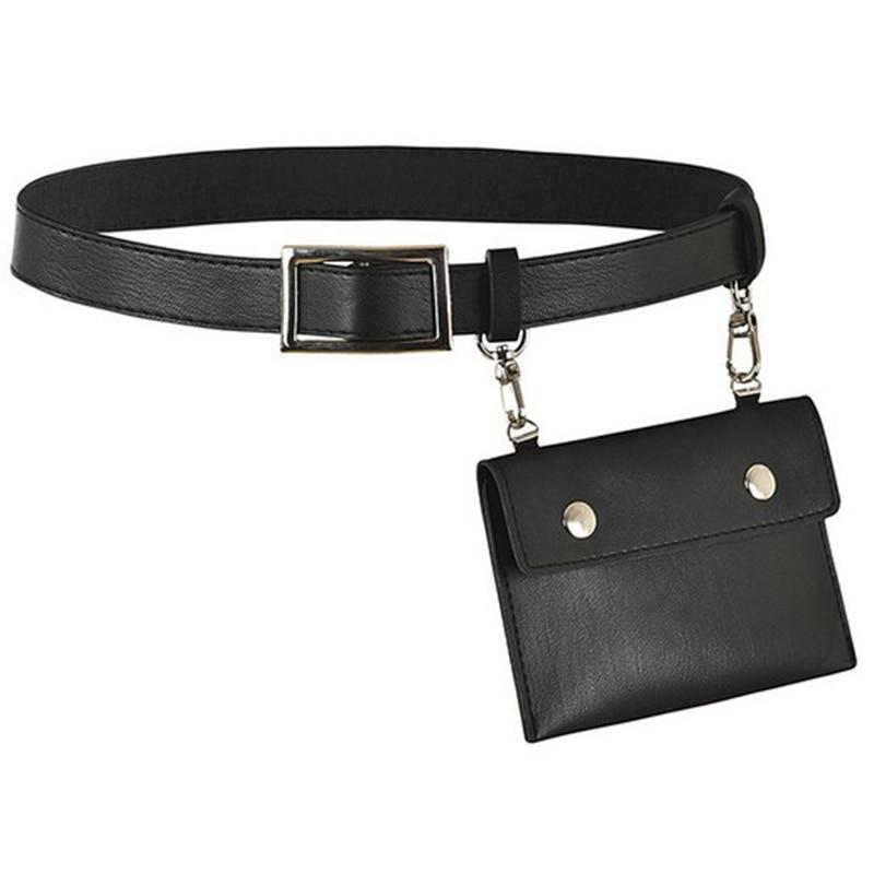 Leather Fanny Pack Mens Waist Belt Bag Womens Purse Hip Pouch Travel Sash Bag