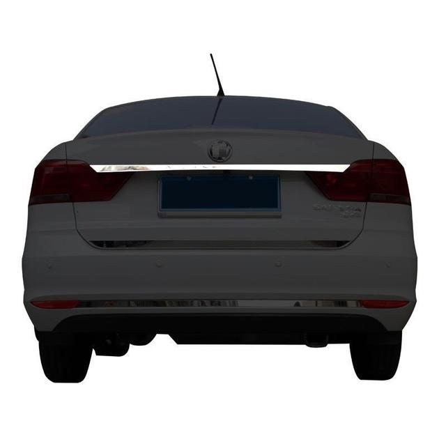 Auto Front Fog Lamp Rear Bumper Exterior High-Grade Decoration Car Styling Parts Covers Accessories 17 FOR Volkswagen Santana