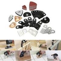 100pcs/Set Mixed Oscillating Blade Multi Tool Saw Blades Cutting Accessory Kit