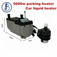 2018 Newest Auto Liquid Parking Heater 5kw 24V Diesel Heater Similar to eberspacher ( not original ) Coolant preheater