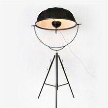 Mordic LOFT LED Floor Lamps Classic Light Photography Adjustable Satellite Shape Photo Studio Living Room Lamp Stand