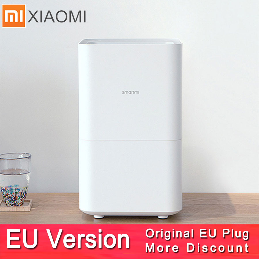 Smartmi 2 Air Humidifier Smog free Mist free Pure Evaporate Type Air Humidity Xiaomi 2 Mute Humidifier Mijia Mi home App Control