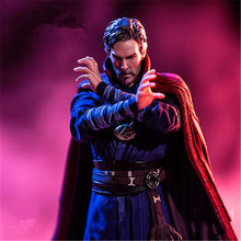 лучшая цена 22cm Avengers Infinity War Dr. Strange 1/10 Action Figure Toys Marvel Super Hero Doctor Strange Collectible Model Figurine Toys