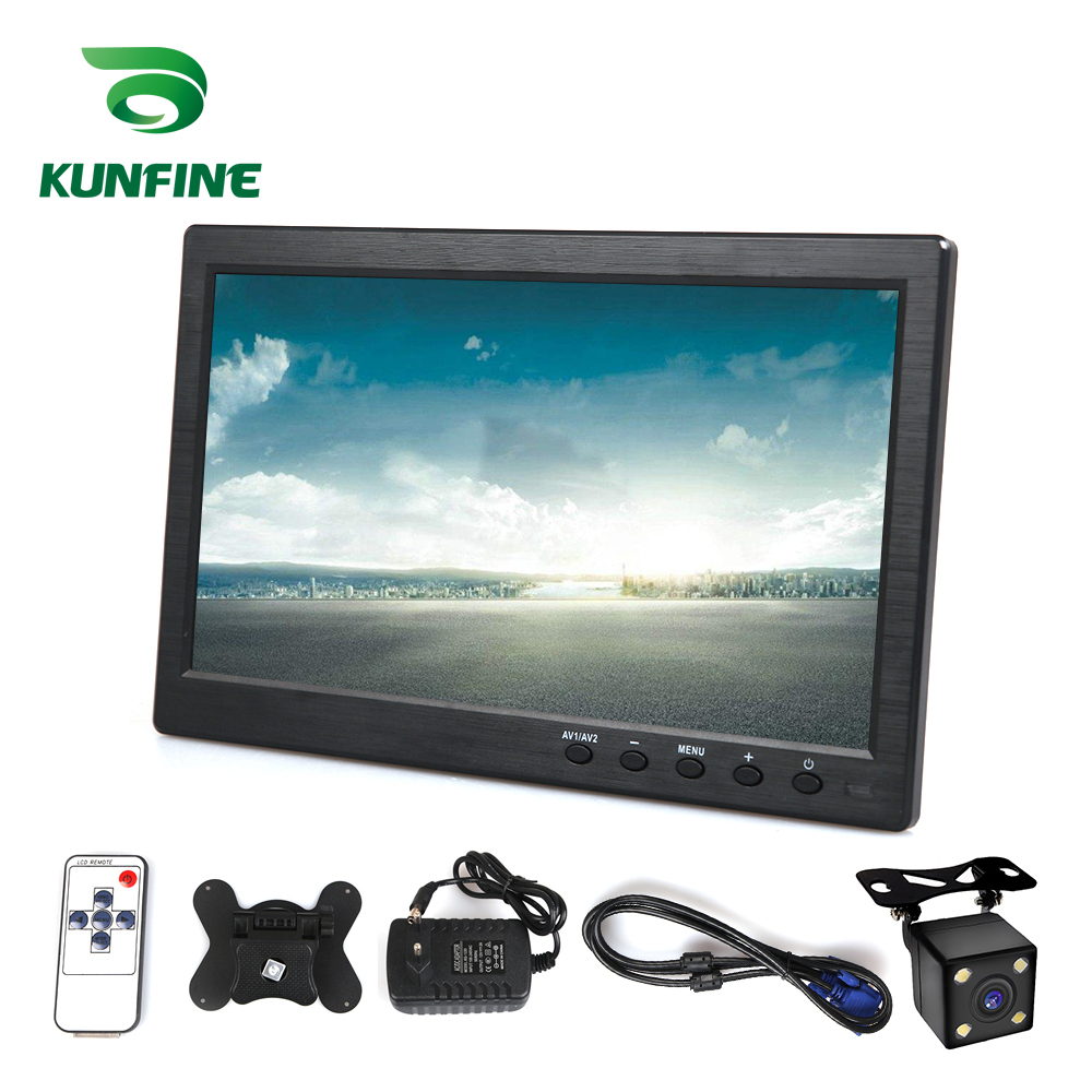 Wireless Car Styling 10.1 inch TFT LCD Screen Car Rear View Monitor Display for Rear view Reverse Backup Camera Car TV Display|Car Monitors| |  - title=
