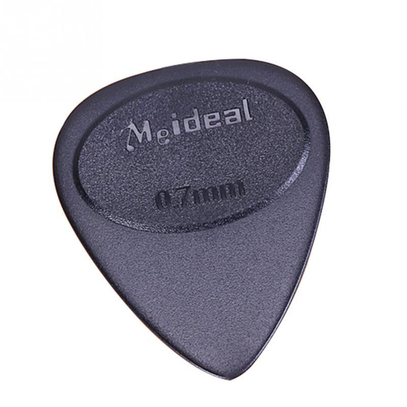 10pcs Guitar Picks Single Thickness 0.7mm Black Ukulele Guitar Pick