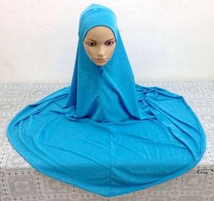 Image 4 - Muslim Large Overhead Abaya Jilbab Islamic Clothes Women Prayer Hat Dress Long Scarf Ramadan Large Hijab Full Cover Headscarf