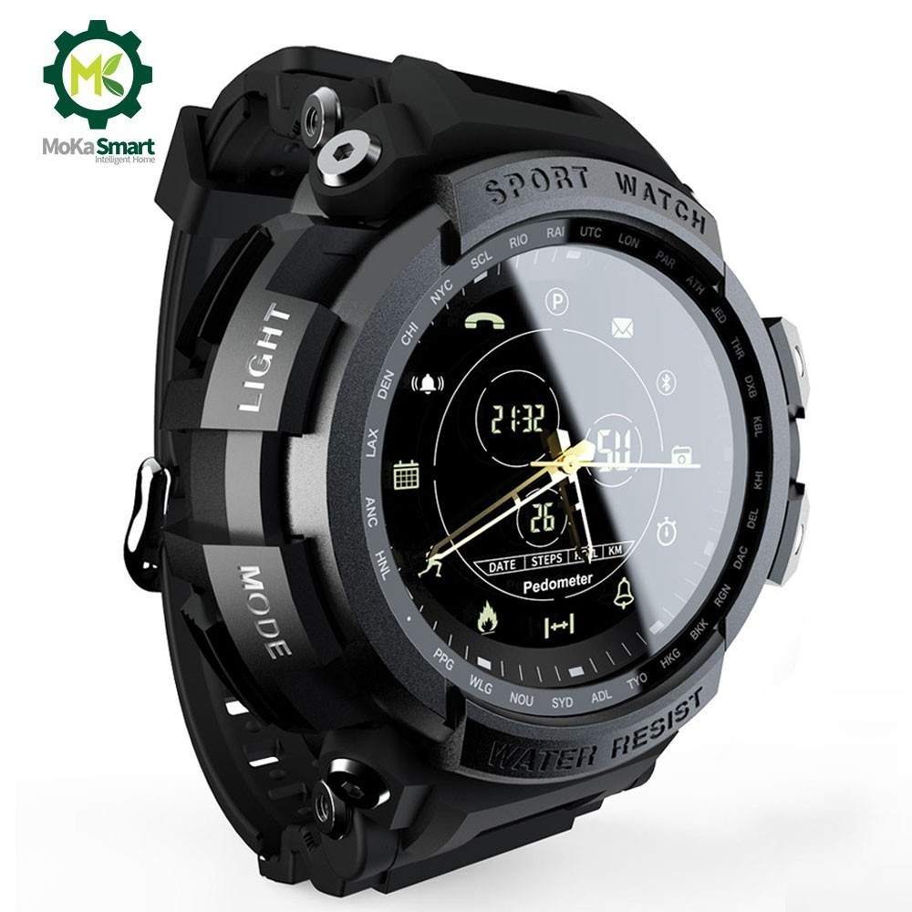 MOKA Smart Watch Sport Professional 5ATM Waterproof Call Reminder Digital Blueto