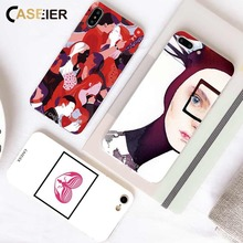 CASEIER Phone Case For iPhone 6 6S 7 8 Plus X XS Max XR Abstract Picture Cover For iPhone XR X XS Max 5S Art Soft Case Accessory цена и фото