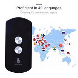 Intelligent Mini Voice Translator 42 languages for Learning Traveling Meeting Bluetooth Camera Voice Russian Language Translator
