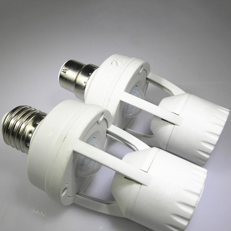 Lights & Lighting 360 Degrees Pir Induction Motion Sensor Led Bulb Light Lamp Holder Ir Infrared Human B22/e14 Plug Socket Switch Base New Fine Workmanship Lighting Accessories
