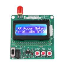 LCD Digital Wattmeter Volt Watt Power Ammeter Voltmeter RF Power Meter -75~16 dBm 1-600MHz Radio Frequency Attenuation Tool(China)