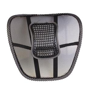 Black Mesh Cloth Car Seat Cush