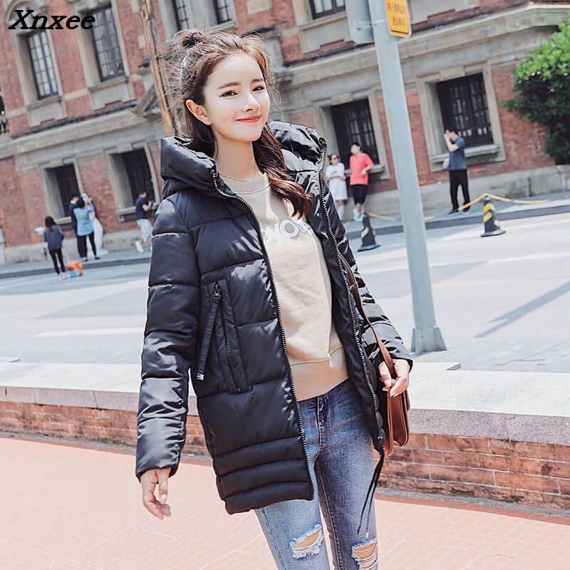 Winter Jacket women 2018 New Design Autumn Coat Women Woman Parkas Outerwear Down jacket Female