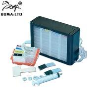 4 sistema de fonte de tinta a granel cor para hp934 935 ciss com chip permanente para hp officejet pro 6830 6230 6815 6835 6812 impressora