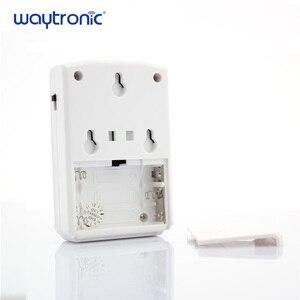 Image 2 - Waytronic Pir capteur de mouvement infrarouge activé voix lecteur Audio enregistrable entrée sonnette de bienvenue pour magasin de magasin avec Usb