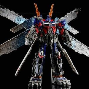 Transformação dexin 6622 filme anime personagem modelo figma deformável carro robô liga plástico abs excelente detalhe brinquedo