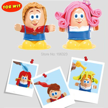 3D DIY Handmade Educational Toys, Hairstylist Creative Play Dough, HairStyles House Maker,Environmental Plasticine Modeling Clay