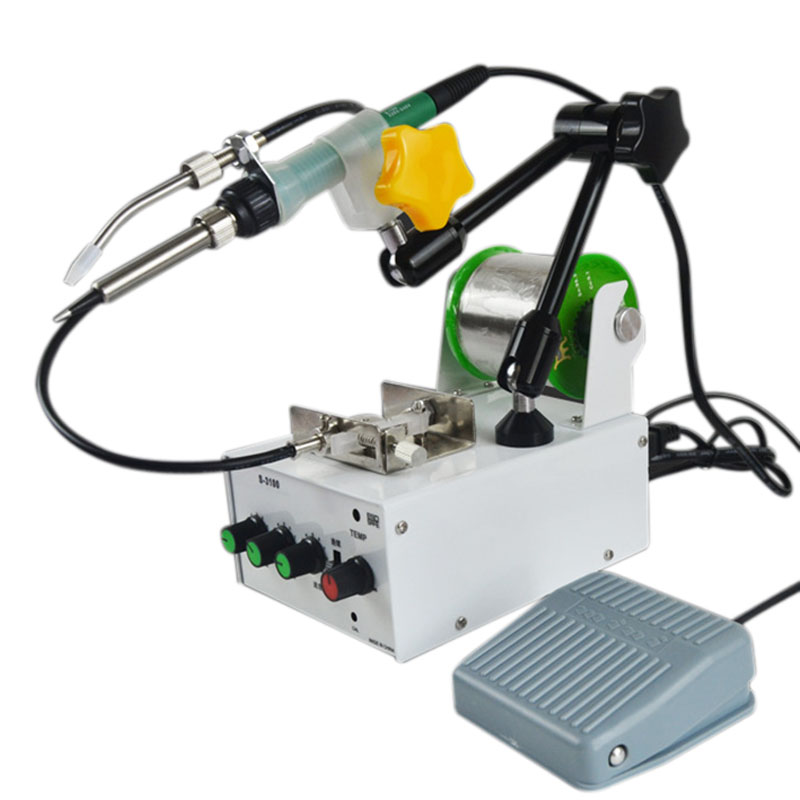 Hot S3100 Full-Automatic Pedal-Type Thermostat Soldering Machine Small Spot Welder Soldering Machine Eu PlugHot S3100 Full-Automatic Pedal-Type Thermostat Soldering Machine Small Spot Welder Soldering Machine Eu Plug
