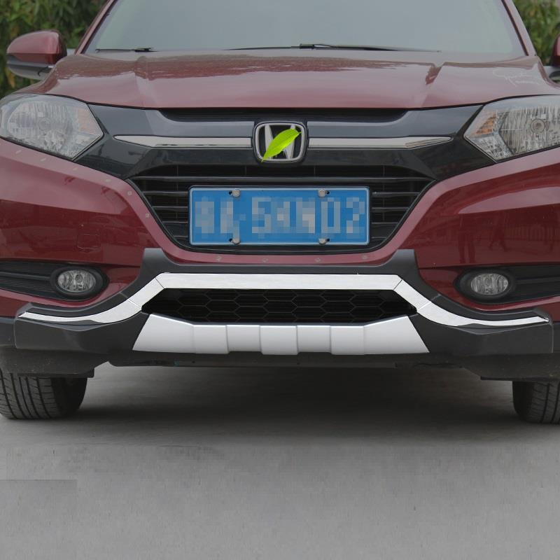 Parts Rear Diffuser tuning Front Car Lip Decorative Accessories Exterior Automobiles Auto Bumpers protector FOR Honda Vezel in Bumpers from Automobiles Motorcycles