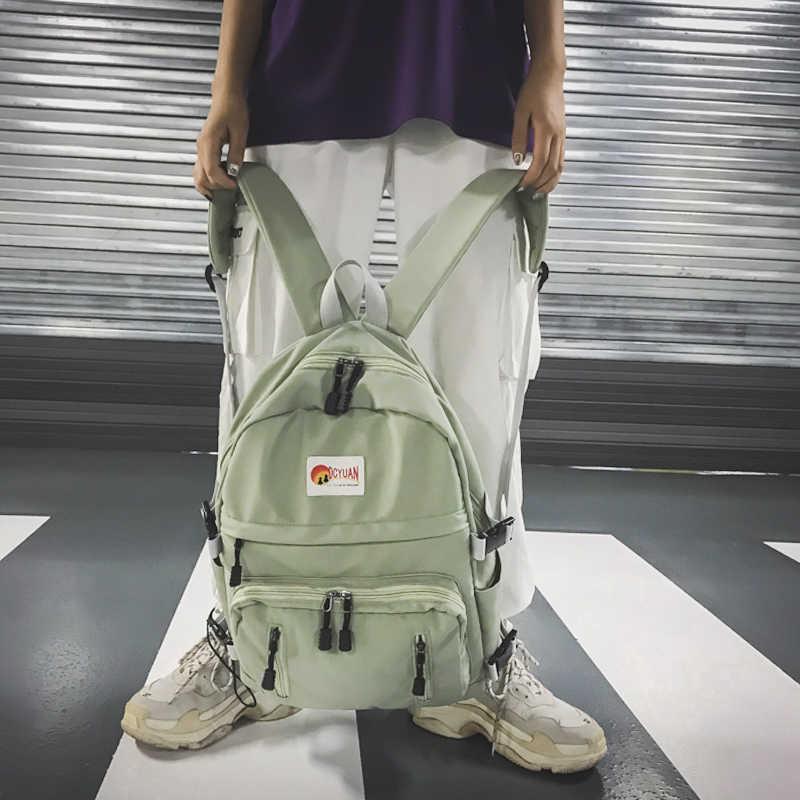 Рюкзак для женщин рюкзак для колледжа Холст Женский Мужской рюкзак школьный для ноутбука рюкзаки для мужчин рюкзак для школы сумка