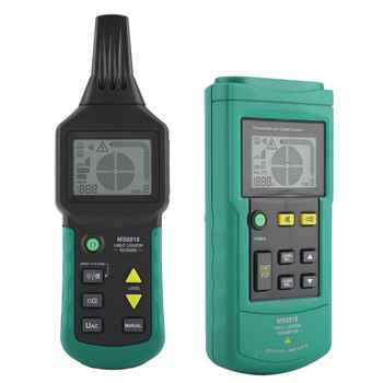 MS6818 12V-400V AC/DC Wire Cable Locator Metal Pipe Detector Tester Line