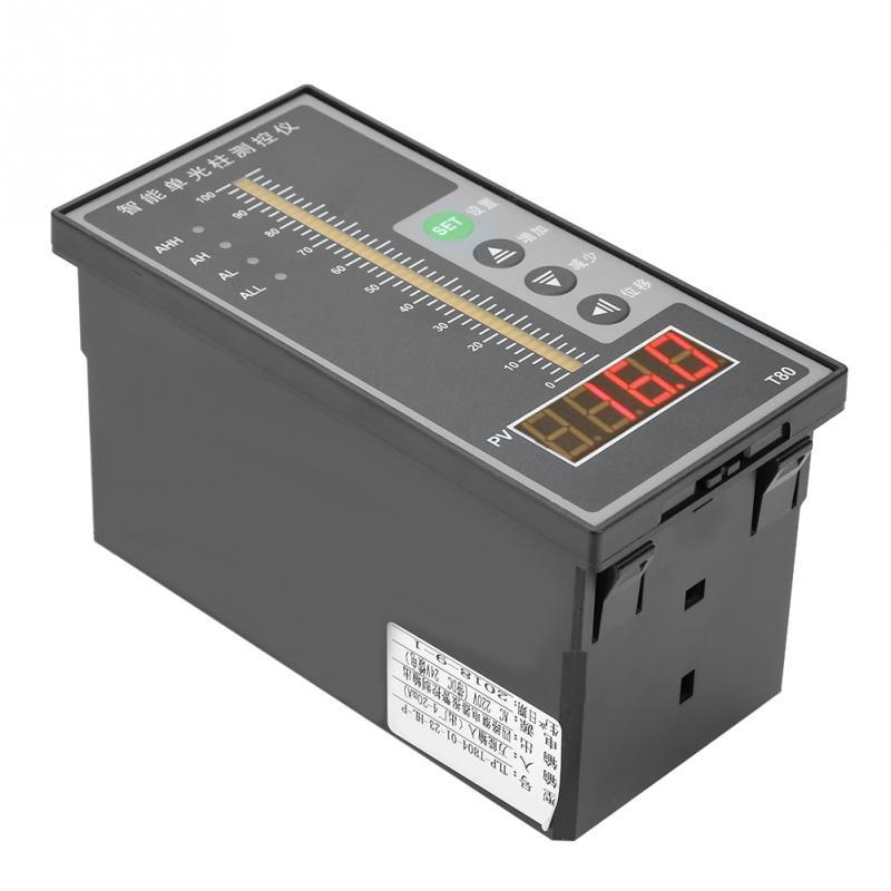 T80 AC220V интеллигентая (ый) Давление Contorller светильник Колонка Дисплей 4-20mA воды масло сточных вод вязкость измеритель уровня жидкости