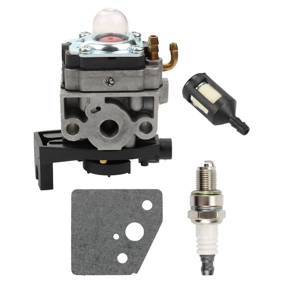 16100-Z0Z-034 Carburetor Carb Spark Plug Kits For Honda GX35 HHT35 HHT35S Gas Trimmer Brush Cutter Generator