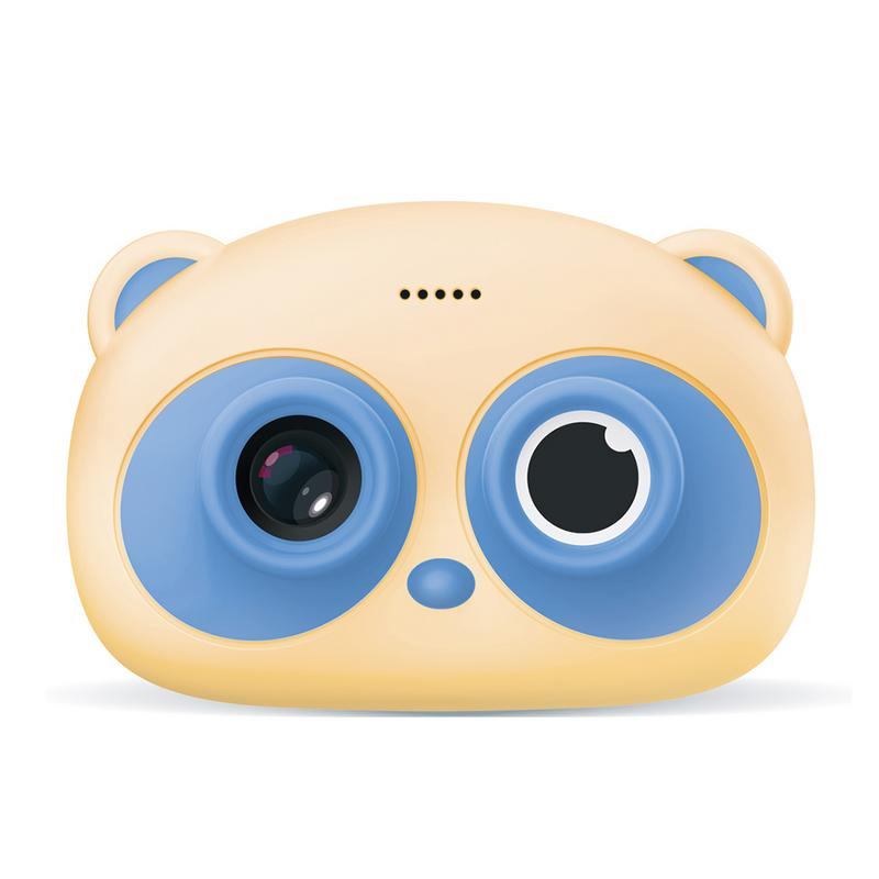 Children Cute Panda Educational Camera Toys 3K WIFI Mini Digital Photo Camera Has 1G Memory And Supports Up To 32G Memory Card