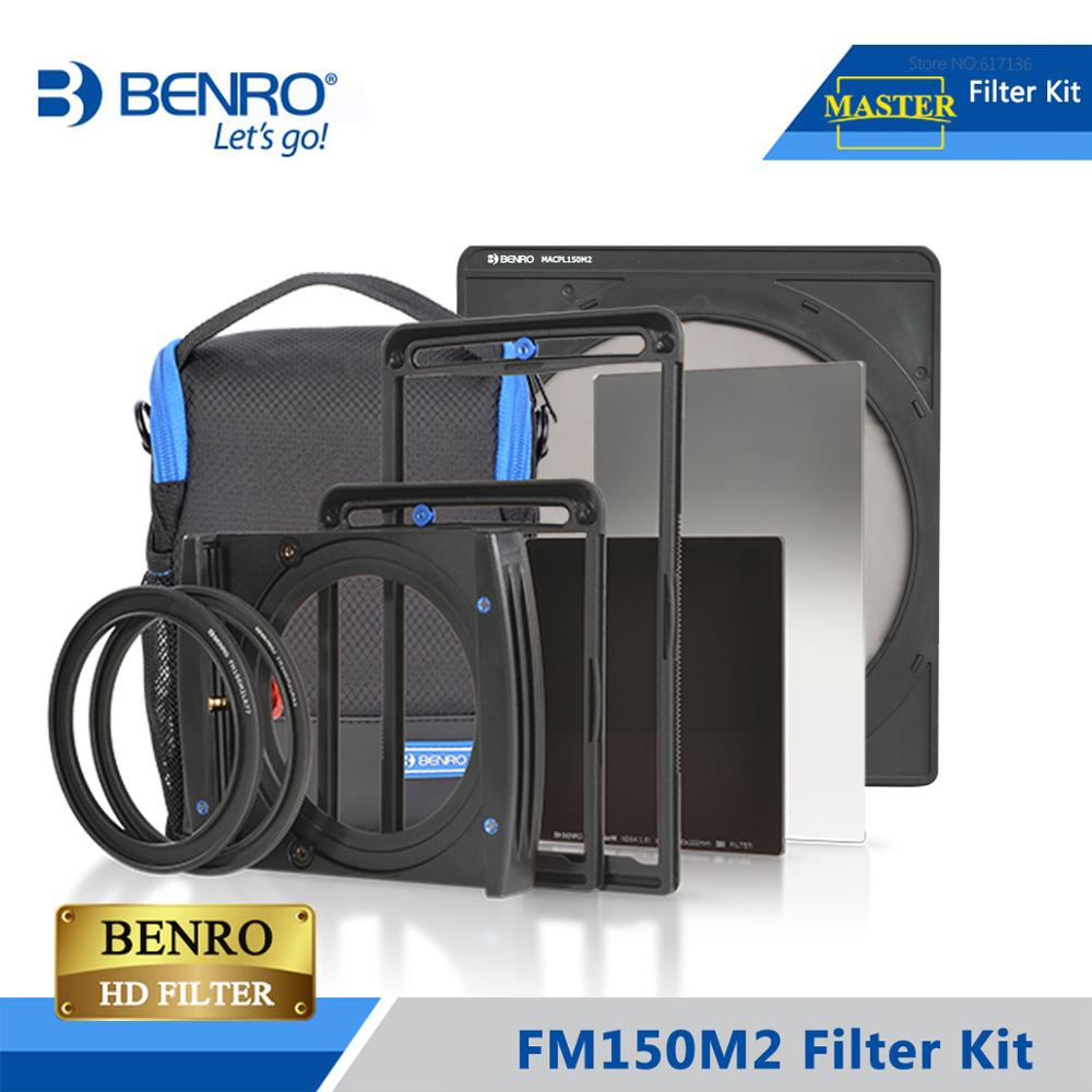Benro FM150M2 Filter Kits 150mm System FB150M2 FMACPL150M2 FH150M2 Holder For Above 14mm Ultra Wide Lens Free ShippingCamera Filters   -