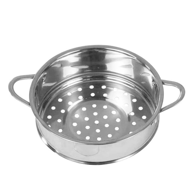 16cm Diamter Steamer Stainless Steel Steaming Tray Stand Kitchen Steamer Shelf Round Steamer Rack Food Cooker Kitchen Tool