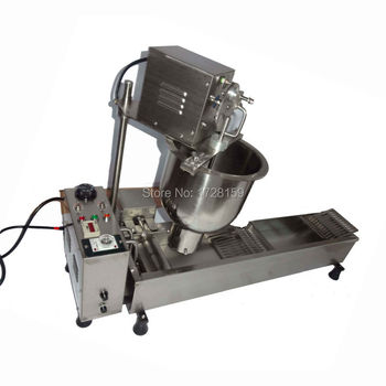 T-101 Commercial  Electric  Automatic Doughnut Donut Making machine mini donut machine  with three size dount moulds 450pcs/hour цена 2017