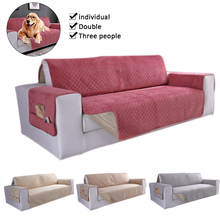 Anti-Slip Couch Waterproof Quilted Sofa Covers Armchair Furniture Protector For Dogs Pets Kids Recliner Slipcovers 1/2/3 Seater waterproof sofa cover 2019 new couch slipcover for pet kid recliner armchair anti slip furniture washable protector 1 2 3 seater