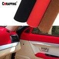 30*152 см Высококачественная бархатная замшевая ткань, материал, автомобильная пленка, самоклеящаяся пленка для автомобильного интерьера/нар...