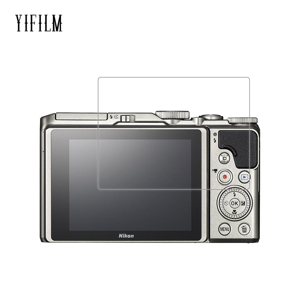 0.26mm 2.5d 9h vidro temperado protetor de tela para nikon coolpix a900 p1000 p900 p900s w300 w300s p530 p510 câmera digital filme
