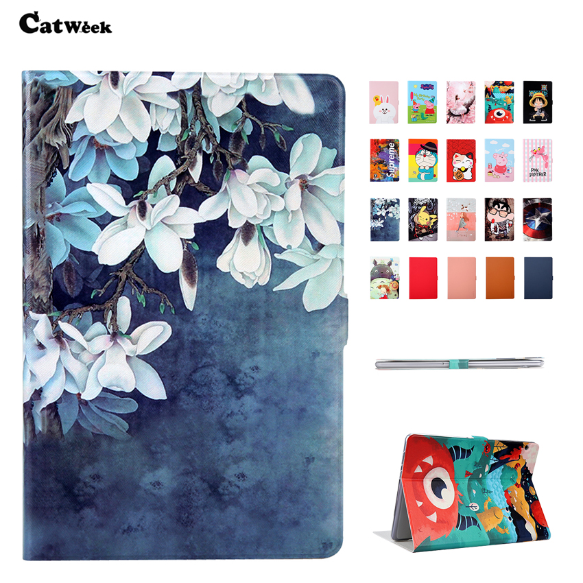 T5 10 PU Leather Case Cover Slim Print Shockproof Protective Stand For Huawei MediaPad T5 10.1 Smart Sleep Tablet Skin FundasT5 10 PU Leather Case Cover Slim Print Shockproof Protective Stand For Huawei MediaPad T5 10.1 Smart Sleep Tablet Skin Fundas