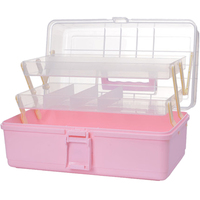 HIPSTEEN Household Multi Layer Oversized First Aid Kit Storage Organizer Medicine Cabinet Medicine Container Box