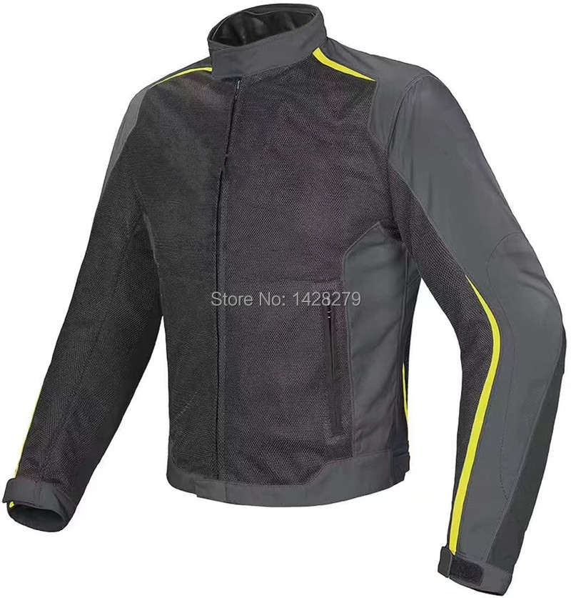 New Arrival 3 Colors Dain Hydra Flux Men's Motorcycle Jacket Summer Mesh Racing Motorbike Knight Riding Jacket