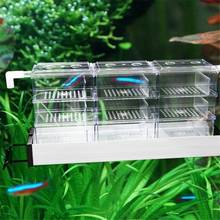 Acrylic Aquarium External Filter Trickle Rain Drop Upper Box Fish Tank Water Black Clear Filter Trickle Box Acrylic(China)