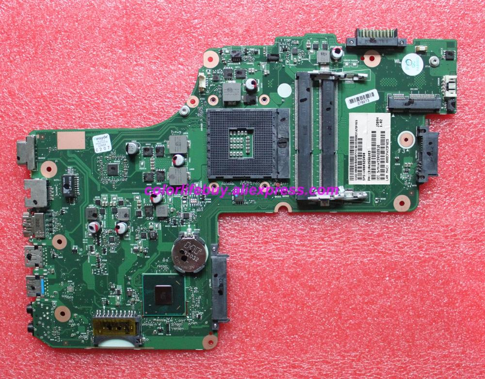 Genuine V000325050 DB10F 6050A2566201 MB A02 DDR3 Laptop Motherboard Mainboard for Toshiba C50 C55 C55T Series Notebook PC-in Laptop Motherboard from Computer & Office