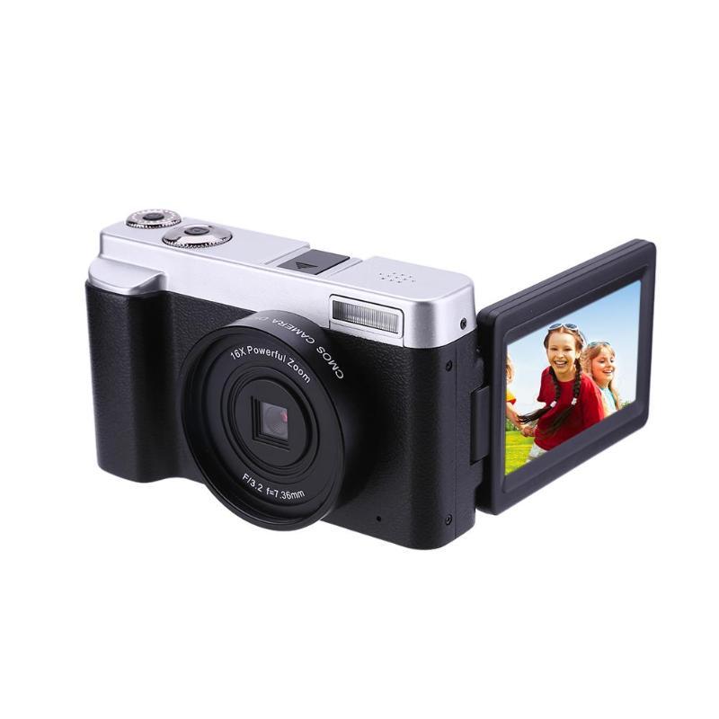 P12 Flip Screen Digital Camera WIFI FHD 1080P 24MP 16X Zoom Video Recorder Camcorder Kamera Cam with HDMI Microphone SlotsP12 Flip Screen Digital Camera WIFI FHD 1080P 24MP 16X Zoom Video Recorder Camcorder Kamera Cam with HDMI Microphone Slots