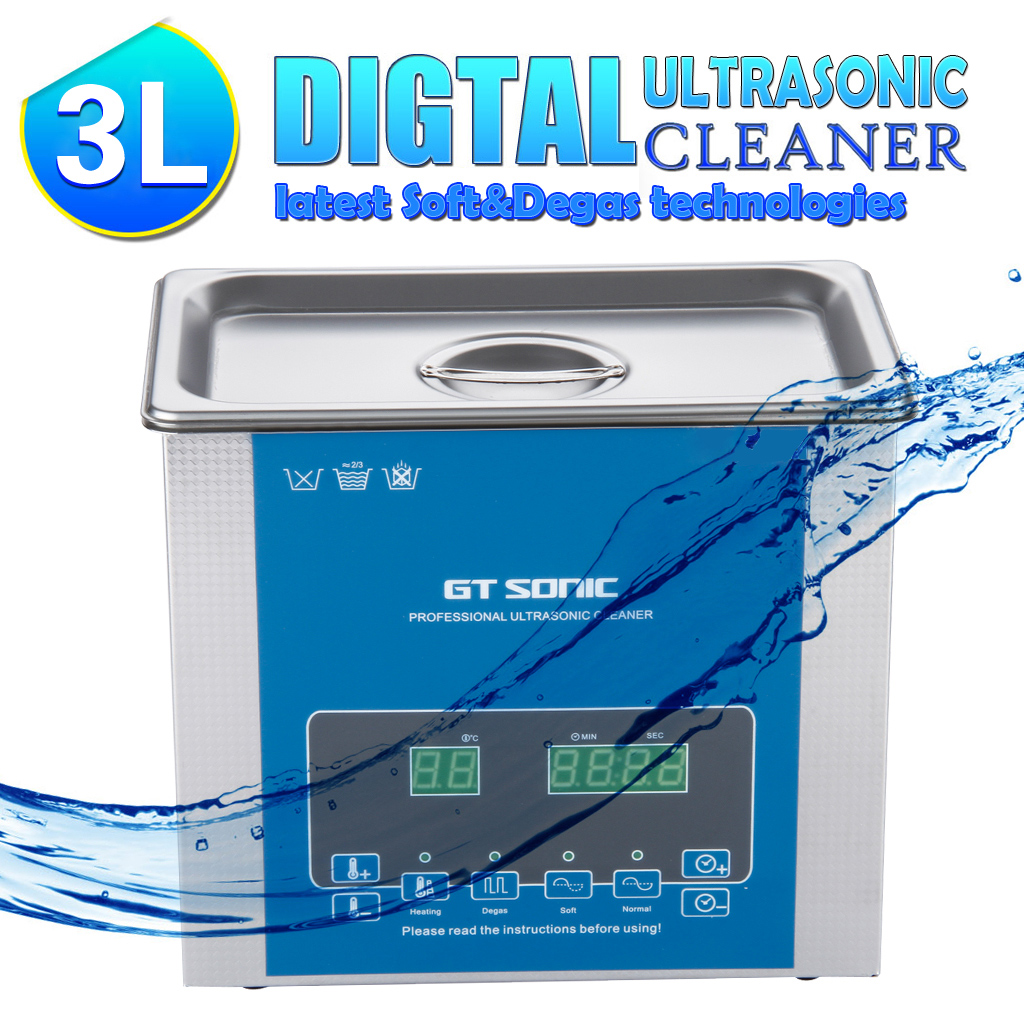 1pc Dual Band Power Ps 60ad Laboratory Electric Vacuum High Frequency Ultrasonic Generator Circuithigh 3l Digital Display Cleaner Heating Timer Cleaning Bath Tank For Jewelry Medical Dental