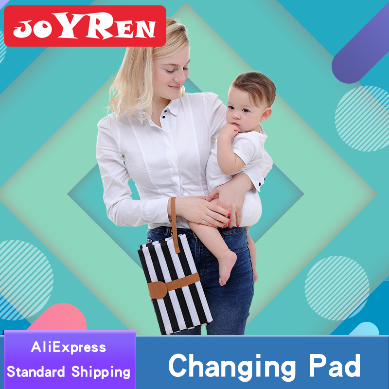 נייד כרית שינוי על ידי JOYREN, עמיד למים תינוק חיתול שינוי מחצלת, נסיעות חיתול שינוי תחנה
