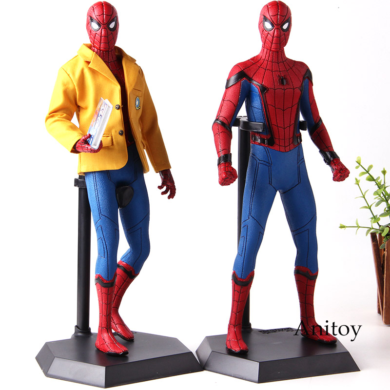 Marvel Spiderman Homecoming Figure Action Spider Man Crazy Toys 1 6 Scale Collectible Figure PVC Collection