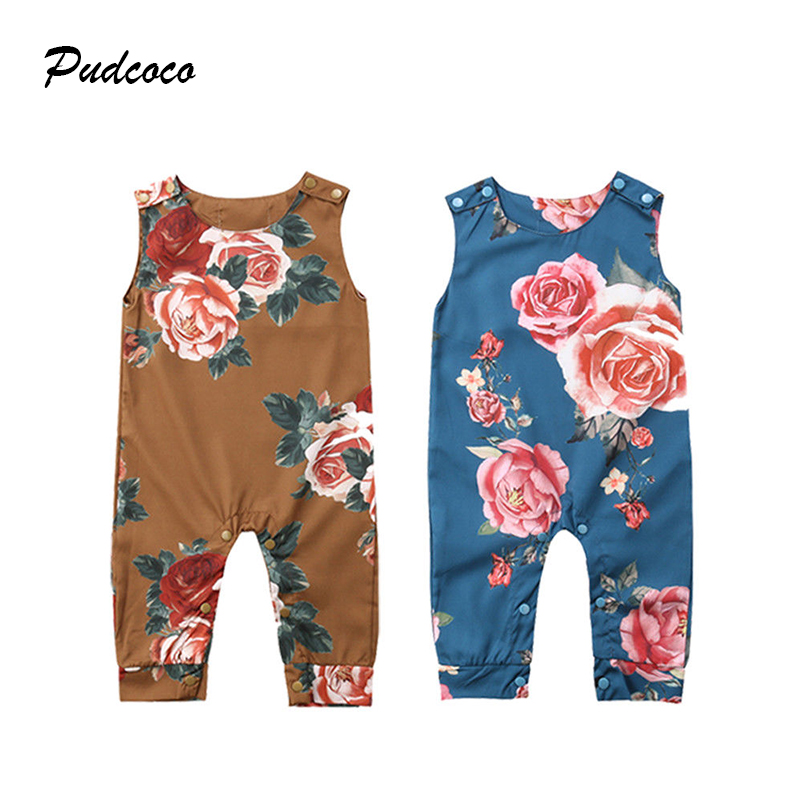 Boys' Baby Clothing Pudcoco Newborn Baby Kid Boy Tiger Cotton Romper Jumpsuit Playsuit Outfits Harem Clothes Keep You Fit All The Time