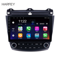 Harfey Android 8.1/7.1 10.1 2DIN Car Multimedia player Quad Core Wifi GPS Car Radio For Honda Accord 7 2003 2004 2005 2006 2007